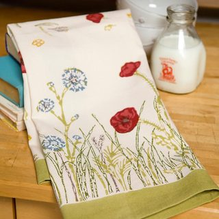 Springfields Multicolored Cotton Tea Towels (Set of 3)