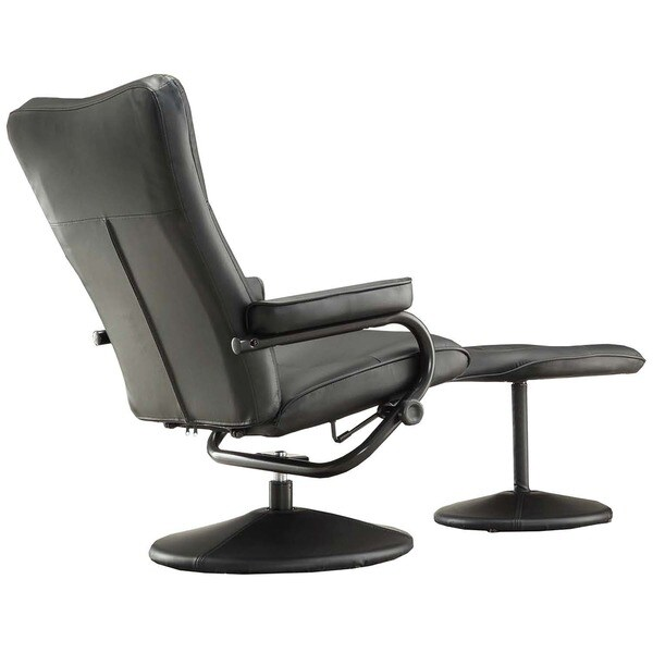 Olivia Bonded Leather Swivel Recliner Chair with Ottoman iNSPIRE Q Modern - Free Shipping Today - Overstock.com - 16605804  sc 1 st  Overstock.com & Olivia Bonded Leather Swivel Recliner Chair with Ottoman iNSPIRE Q ... islam-shia.org