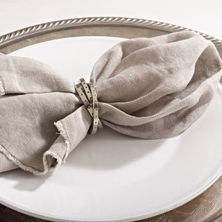 Interlink Design Napkin Ring (Set of 4)