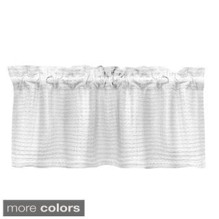 Grand Luxe Payton Tailored Window Valance
