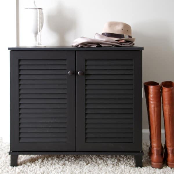 Baxton Studio Duncan Espresso Wood Multi-use Cabinet