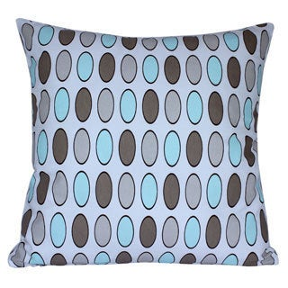 Decorative Handcrafted Polka Dots Throw Pillow Case