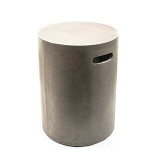 Handmade Eco Concrete Watercourse Stool (Vietnam)