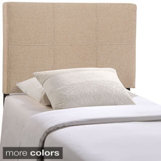 Quad Modern Fabric Twin Headboard