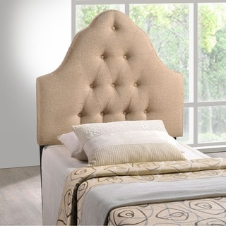 Sovereign Tufted Fabric Twin Headboard
