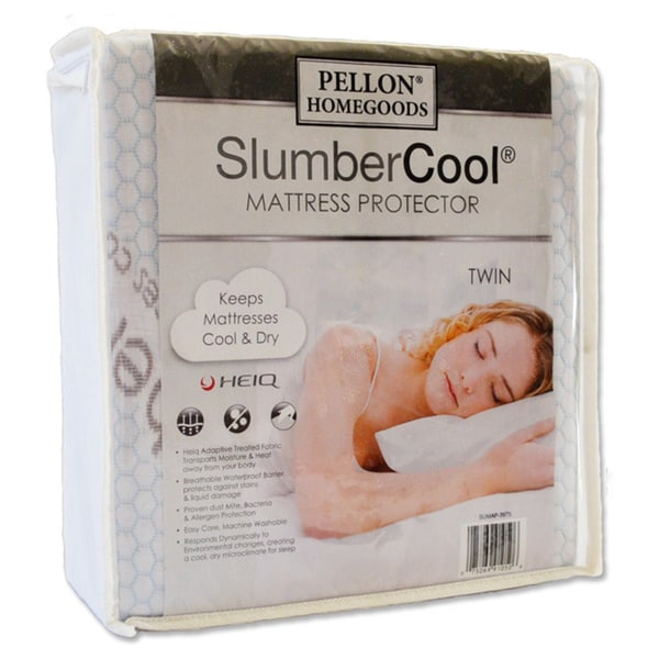 pellon slumber cool waterproof mattress protector free shipping today