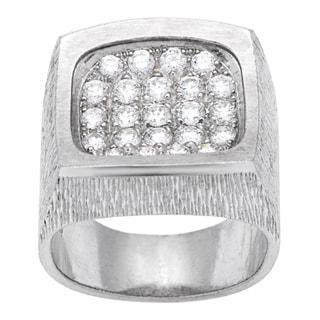 Pre-owned Piaget 18k White Gold 7/8ct TDW Diamond Estate Ring (Size 7.5)