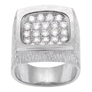 Pre-owned Piaget 18k White Gold 7/8ct TDW Diamond Estate Ring (Size 7.5)