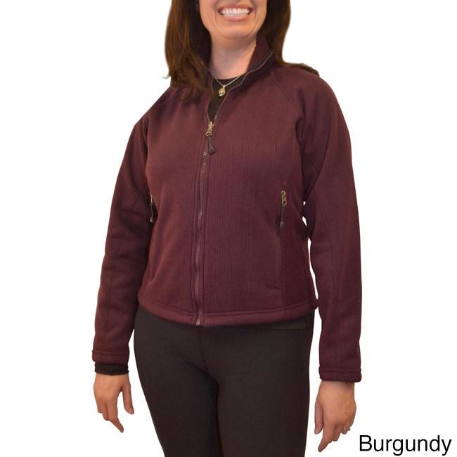 Basic Spiral Women's Polartec Wind Pro Fleece Jacket (Bur...