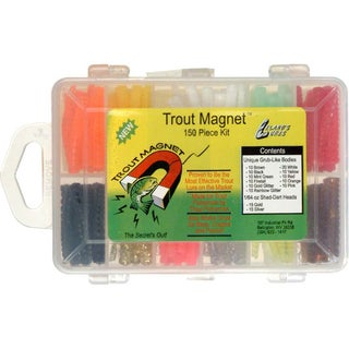 Leland Lures Original Trout Magnet 152-piece Kit