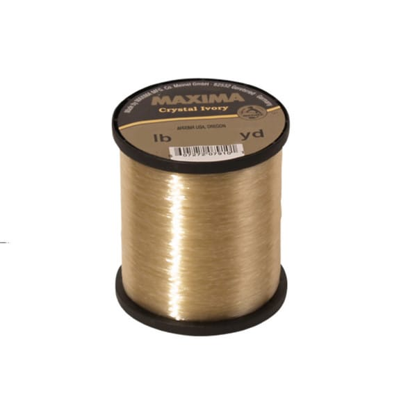 Maxima Crystal Ivory Guide Spools Monofilament