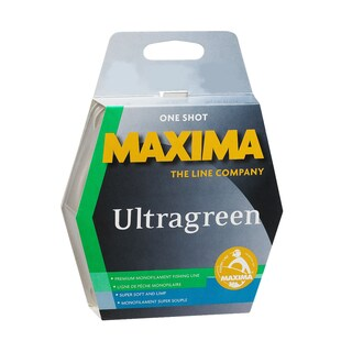 Maxima One Shot Spool Ultragreen 220-yard Monofilament Fishing Line