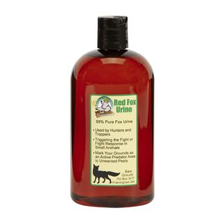 16-ounce Bottle of Pure 100-percent Meat Fed Red Fox Urine