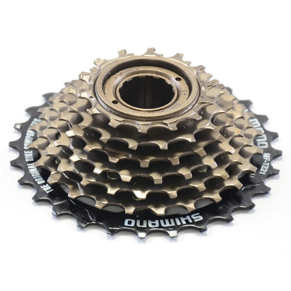 69eda4cf235 Shop Shimano Freewheel MF-TZ21 14-28 Tooth 7-speed Cassette - Free ...