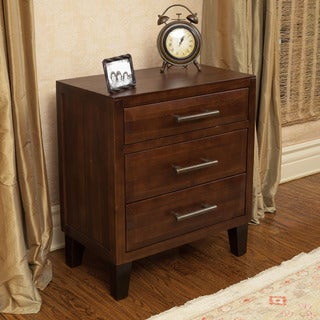 Christopher Knight Home Luna Acacia Wood 3-drawer Cabinet