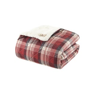 Woolrich Tasha Softspun Down Alternative Filled Oversized Throw
