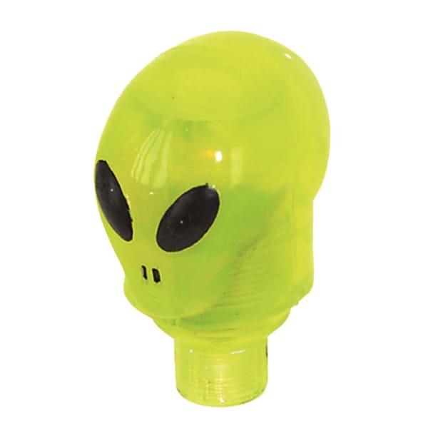 Light Up LED Alien Valve Caps