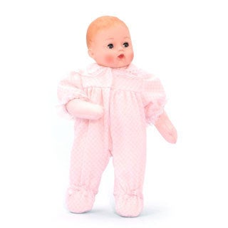Madame Alexander Baby Huggums Doll with Pink Check Bodysuit