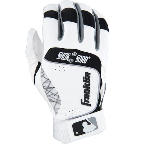Franklin Sports Adult Shok-sorb Neo Batting Gloves