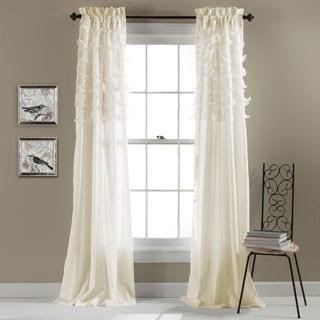 Lush Decor Avery Curtain Panel Pair - 54 x 84