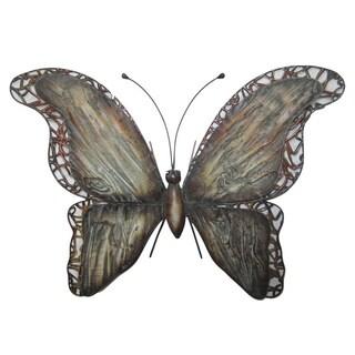 21-inch Butterfly Metal Wall Decor