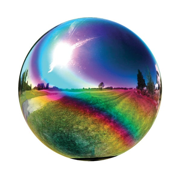 Shop 10 Inch Rainbow Gazing Globe Free Shipping Today
