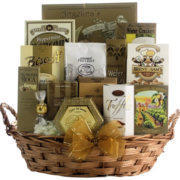 Great Arrivals Festive New Year's Wishes Gourmet Gift Basket