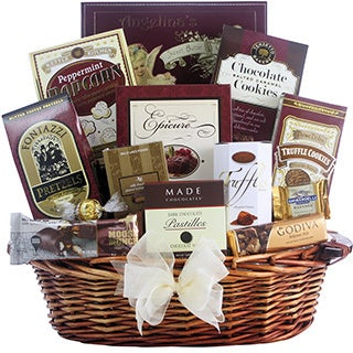 Great Arrivals Peace & Prosperity Medium Chocolate Christmas Gift Basket