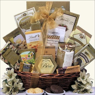Great Arrivals Classic Holiday Elegance Gourmet Christmas Gift Basket