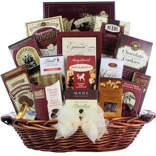 Great Arrivals Peace & Prosperity Large Chocolate Holiday Gift Basket