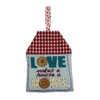 Handmade 'Love Home' Decorative Sign (India)
