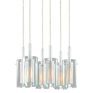 Sonneman Lighting Zylinder 6-Light Rectangle Pendant