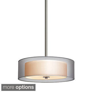 Sonneman Lighting Puri 3-light Drum Pendant