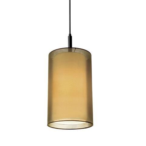 Sonneman Lighting Puri 8 inch 1-Light Cylinder Pendant