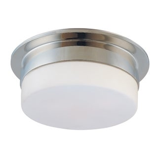 Sonneman Lighting Flange 12 inch 2-Light Surface Mount