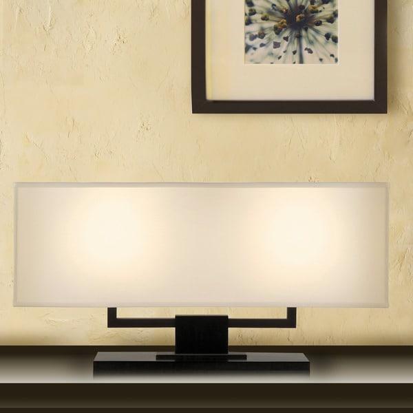 Sonneman Lighting Hanover Bankette 2-Light Table Lamp