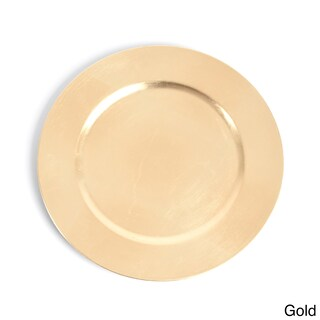 Classic Design Charger Plate (Set of 4) (Option: Gold)