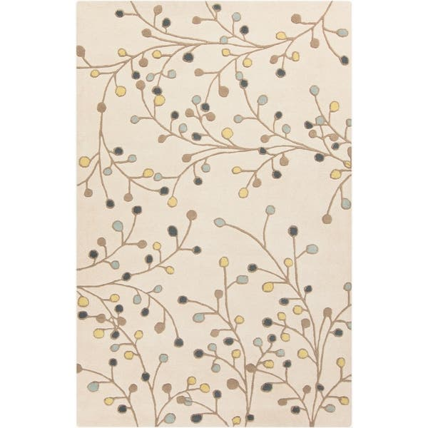 Sakura Handmade Transitional Floral Wool Area Rug On Sale Overstock 5509702