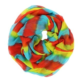 LA77 Colorful Stripes Lightweight Scarf