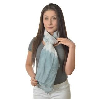LA77 Jewel Tone Tie-dyed Scarf/ Sarong