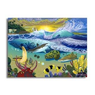 David Dunleavy 'Rincon Signature' Canvas Wall Art