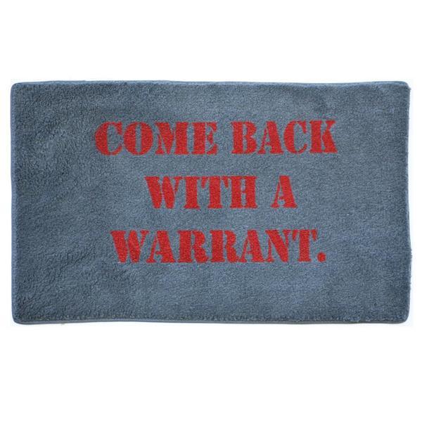 """Warrant Indoor Mat (18"""" x 27"""" )"""