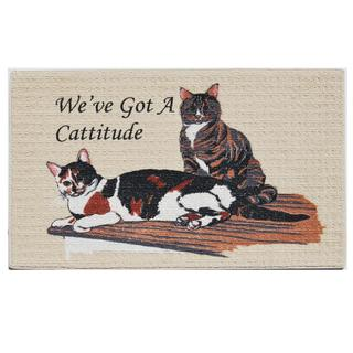 "Cattitude Indoor Mat (18"" x 27"")"