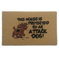 Attack Dog Indoor Mat (18 x 27 inches)