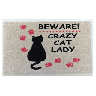 Cat Lady Indoor Mat
