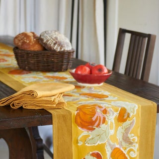 Couleur Nature Pumpkin Table Runner