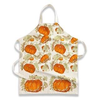 Couleur Nature Pumpkin Kitchen Apron (Option: Yellow)