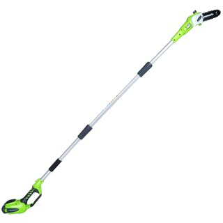 GreenWorks G-MAX 40V 8-Inch Cordless Pole Saw with 1 Battery and Charger