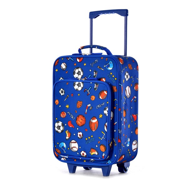 Olympia Kids 19-inch Sports Rolling Upright Suitcase - Free ...