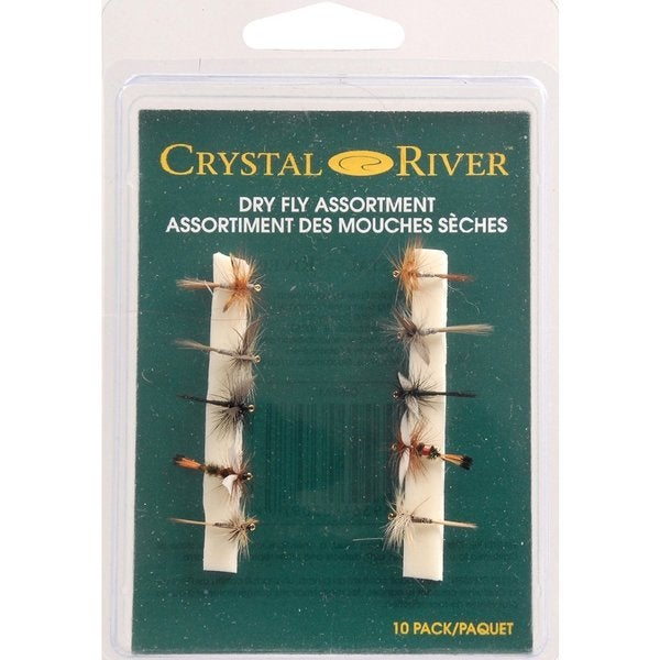 Crystal River Fly Assortment Lures (Pack of 10)